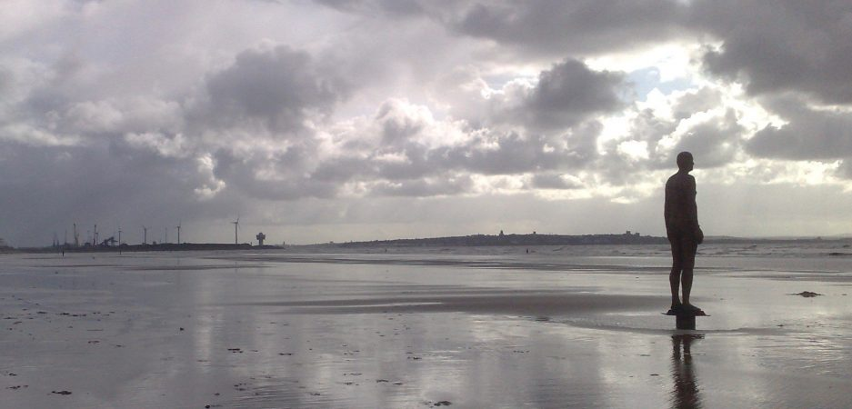 Antony Gormley, Another Place, Crosby