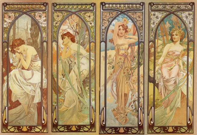Alphonse Mucha, Walker Art Gallery Liverpool, 16 June