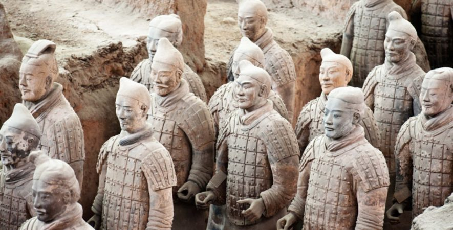 Terracotta Warriors, World Museum, LIverpool