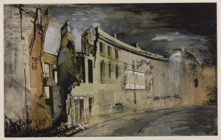 John Piper exhibition, Liverpool Tate