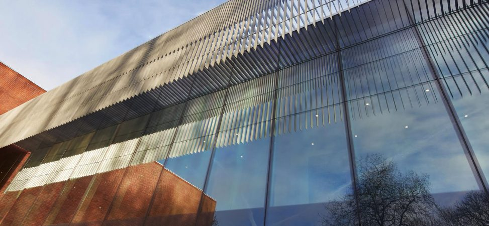 NEW EXTENSION WHITWORTH GALLERY, MANCHESTER