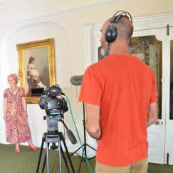 Margaret Ready for Interview - heritage Awards Filming (Town Hall) 24.08.2016