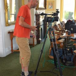 Our Camera, Film Maker/Interviewer (Town Hall) 24.08.2016