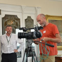 A Technical Moment - Heritage Awards Filming (Town Hall) 24.08.2016