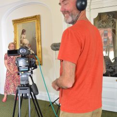 Margaret in the frame - Heritage Awards Filming (Town Hall) 24.08.2016